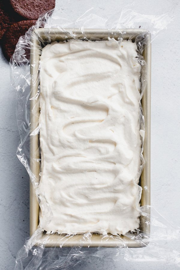 Eggnog Icebox Cake