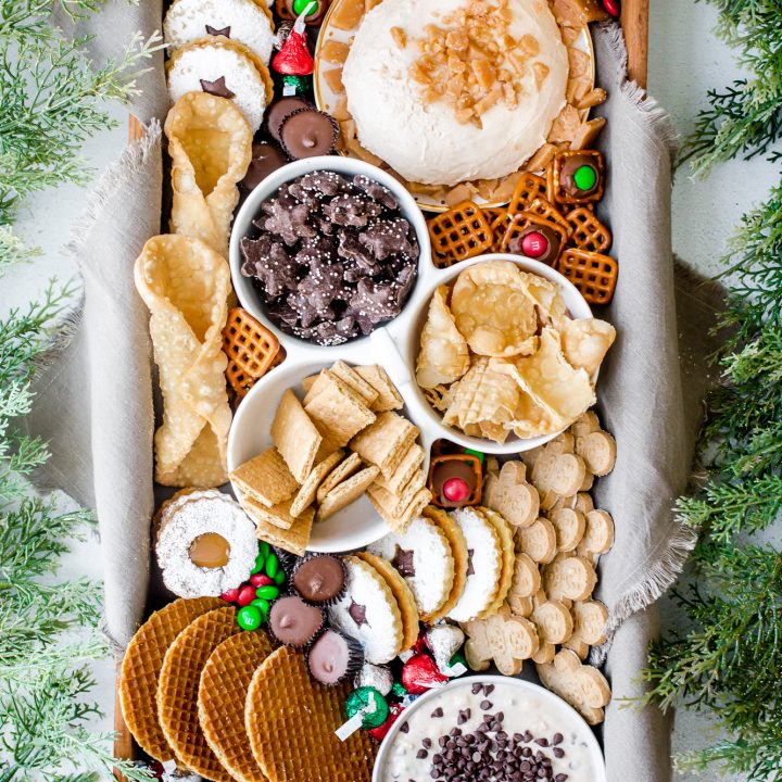 How to Build a Holiday Dessert Charcuterie Board for a Crowd