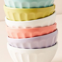 Anthropologie Latte Bowls