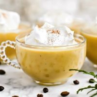 Coffee Eggnog Punch Recipe