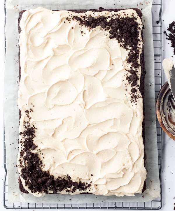 Chocolate Guinness Cake with Baileys Irish Buttercream Frosting
