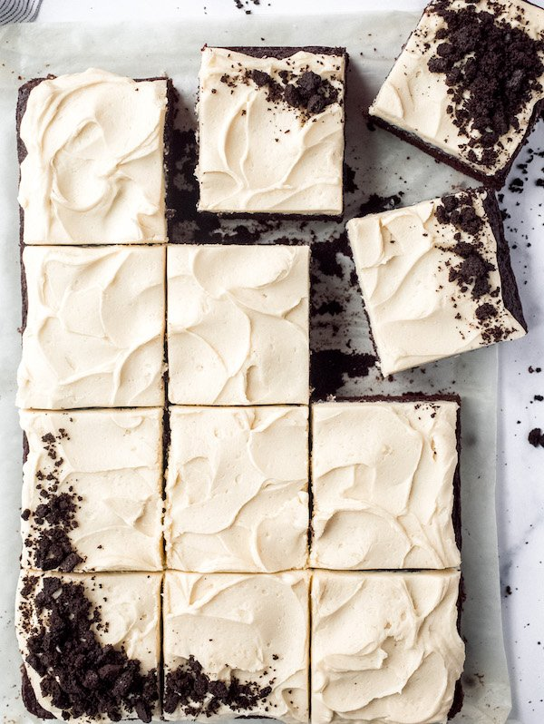 Chocolate Guinness Cake with Baileys Irish Buttercream Frosting