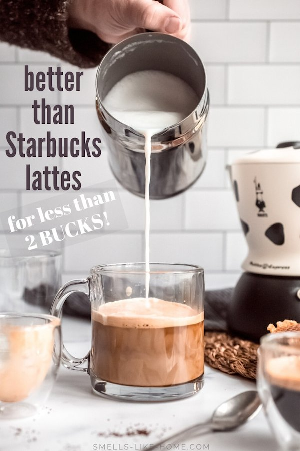 How to Make a Latte at Home