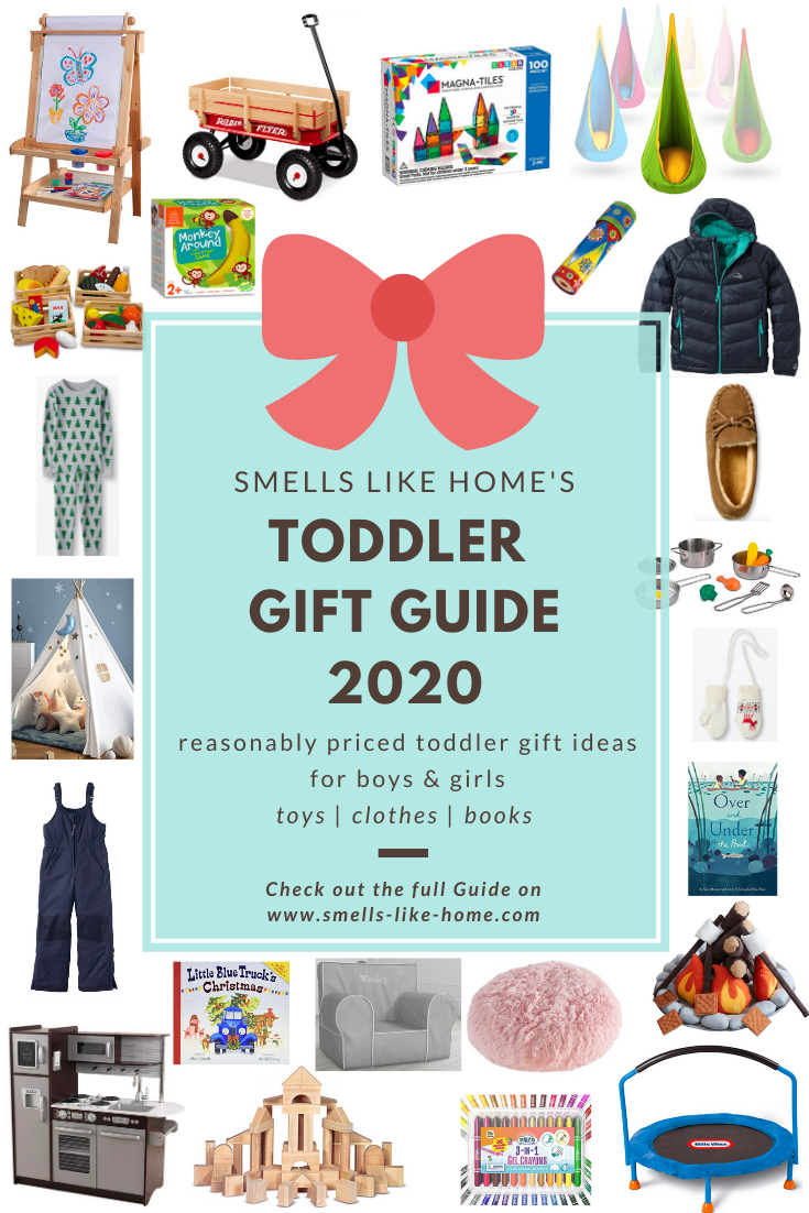 Toddler Holiday Gift Guide: 2020
